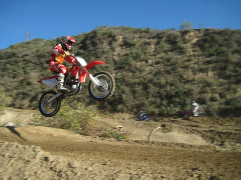 Peter F. Koenig - Action during Motocross